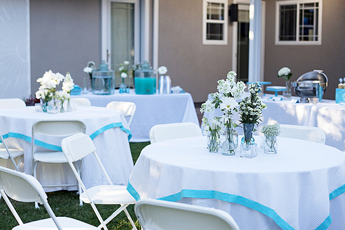 Project Wedding- The Tables