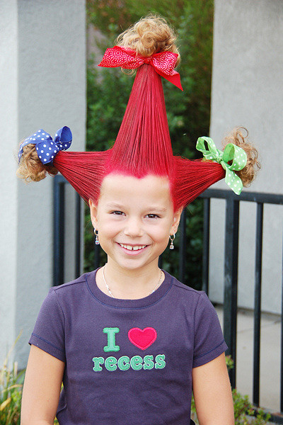 Crazy Hair Day with Allison