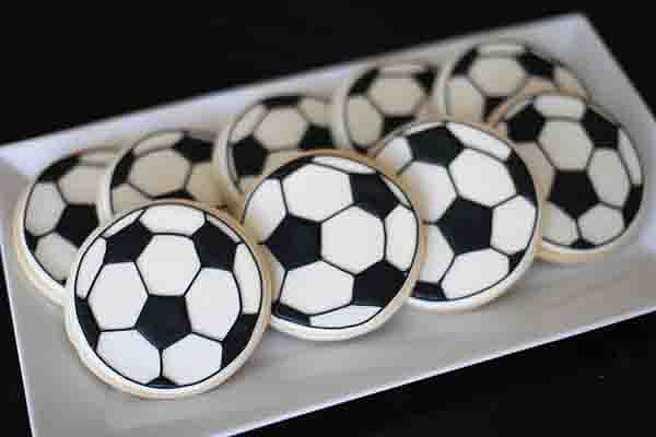 Not Just Soccer Cookies