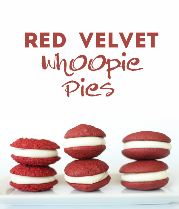 Red Velvet Whoopie Pies- Quest for the Best