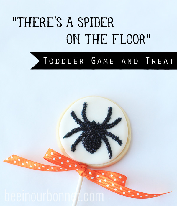 Halloween Toddler Game and Treat