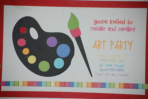 Art Birthday Party