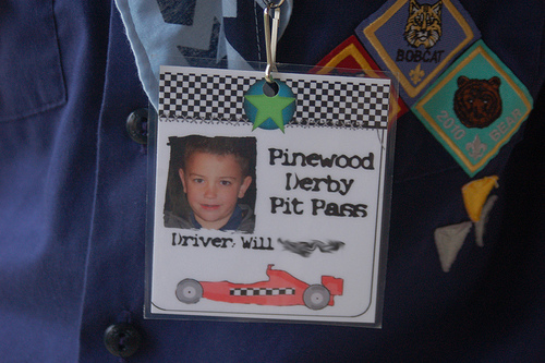 Pinewood Derby Fun