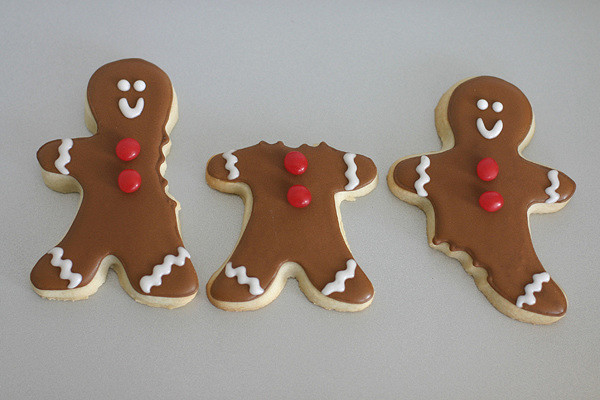 ABC Gingerbread Men
