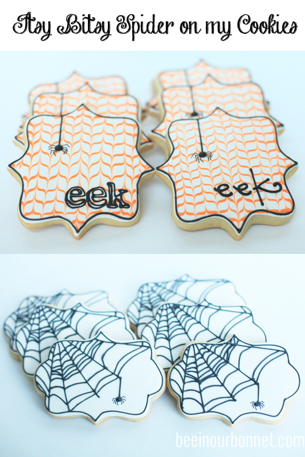 Itsy Bitsy Spider Cookies
