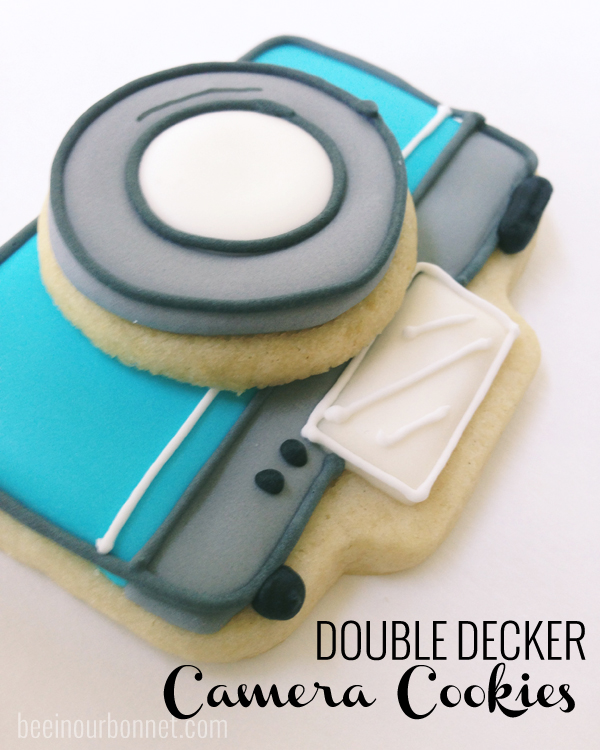 Double-Decker Camera Cookies