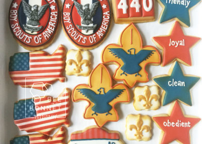 Bee In Our Bonnet Boy Scouts Cookies