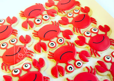 Bee In Our Bonnet Crab Cookies