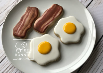 Bee In Our Bonnet Eggs Bacon Cookies