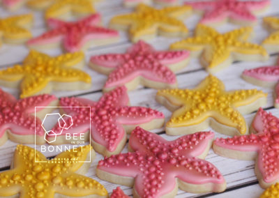 Bee In Our Bonnet Starfish Cookies