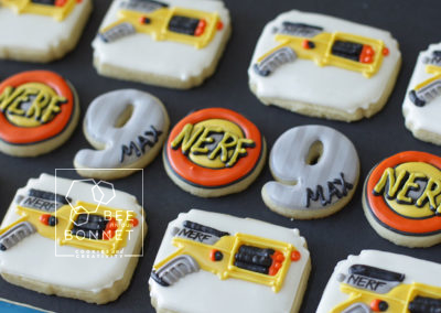 Bee In Our Bonnet Nerf Cookies