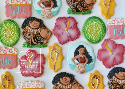 Bee In Our Bonnet Moana Cookies