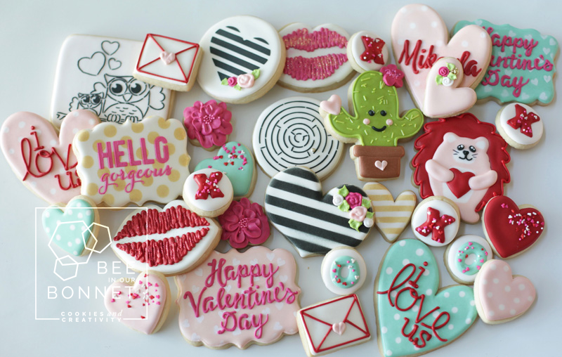 Valentine's Cookie Options